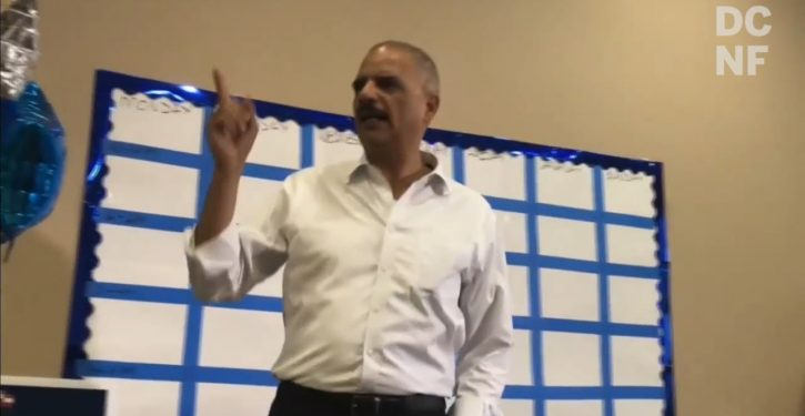 Holder changed his mind: He will not run for White House in 2020