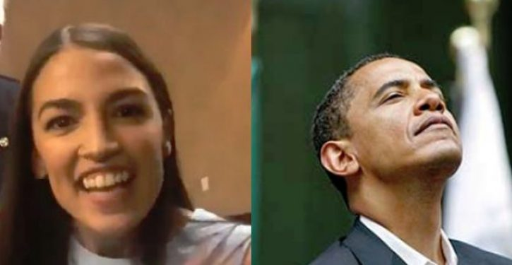 Obama endorses socialist Ocasio-Cortez