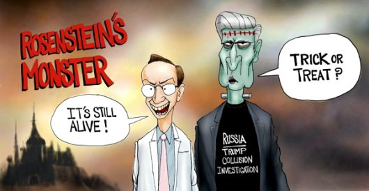 Cartoon of the Day: Rosenstein's monster by A. F. Branco