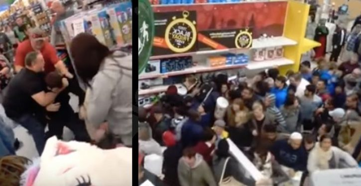 Season's beatings: Black Friday shoppers throw punches, wrestle TVs in merch scrum