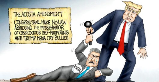 Cartoon of the Day: Freedom of screech by A. F. Branco