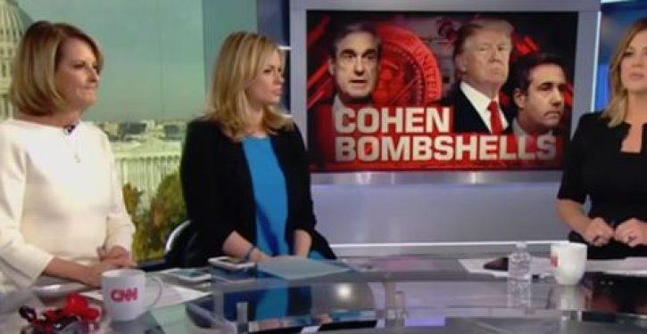 VIDEO: Media giddy at Cohen plea: Turning 'gun' on Trump, prez is next, 'just the beginning'