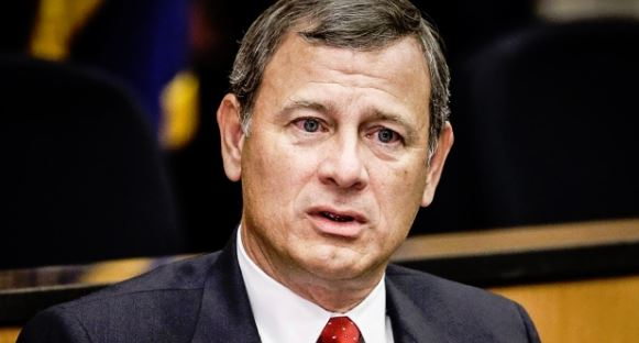 Chief Justice Roberts was hospitalized in June after suffering head injury in a fall