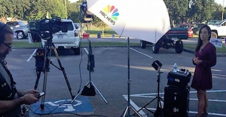Disabled vet can't vote after NBC sets up camera in handicapped parking space, refuses to move