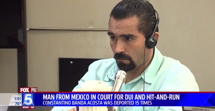 15-times deported illegal, in jail for 1.5 years, awaits sentencing delayed by hit-and-run case
