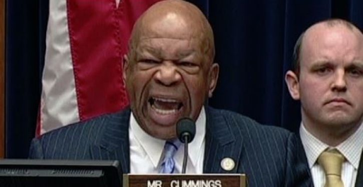 Elijah Cummings's changing views on holding the AG in contempt of Congress