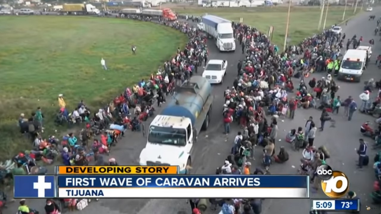 Amid reports of violence, DHS warns caravan migrants will be sent home if they reach U.S.