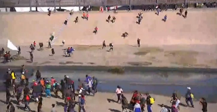 Migrants make border rush south of San Diego; repelled by smoke pellets; *UPDATE* Mexico will deport perps