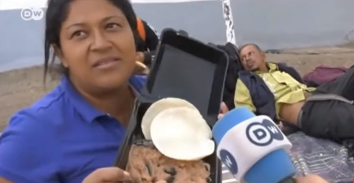 Migrant who complained donated Mexican food is 'for pigs' coming to U.S. for free health care