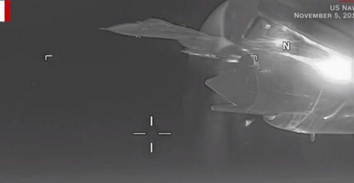 Russian fighter buzzes U.S. Navy P-3 reconnaissance aircraft at unsafe distance