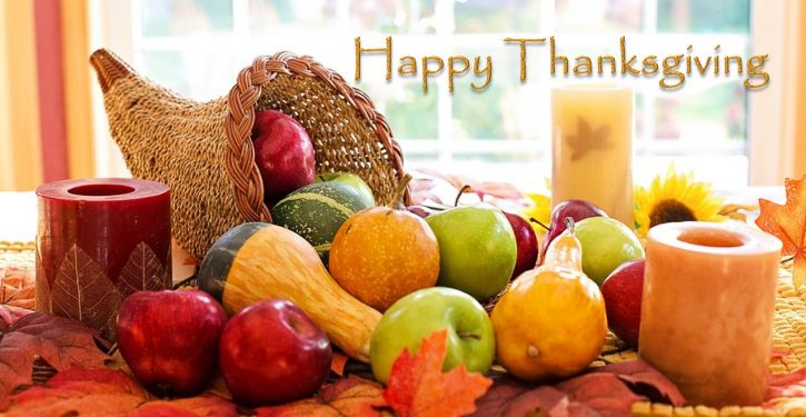 Thanksgiving greetings from Liberty Unyielding