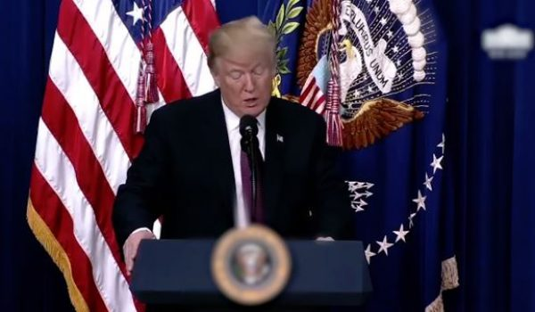 It's come to this? Facebook blurs presidential seal in video of Trump speech by Joe Newby