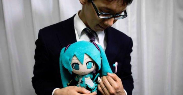 Japanese man 'marries' virtual reality singer Hatsune Miku hologram