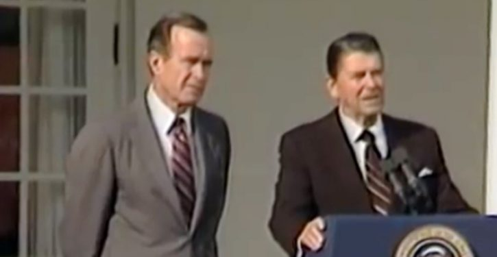 George H.W. Bush's harrowing top secret mission for Reagan in 1983