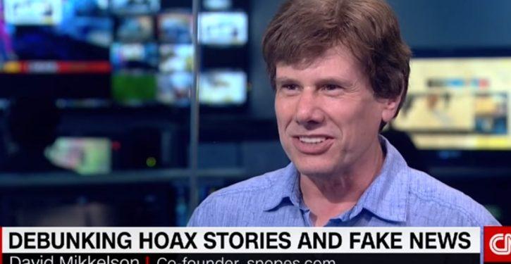 Snopes, fact-checker for Facebook and Google, seriously botches fact-check