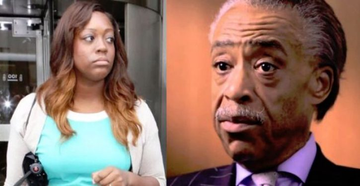 Al Sharpton's daughter wins lawsuit over sprained ankle … despite having proved she lied