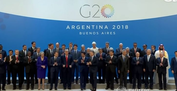 Trump is lone dissenter, won't sign G-20 affirmation of Paris climate agreement