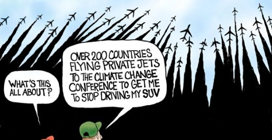 Cartoon of the Day: Jet setters by A. F. Branco