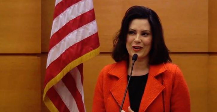Mich. Gov. Gretchen Whitmer urges Michiganders to 'lock arms' to fight coronavirus