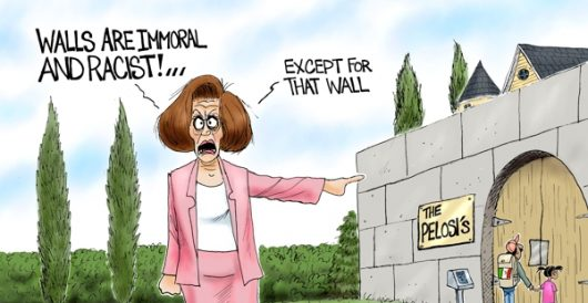Cartoon of the Day: Walled off by A. F. Branco