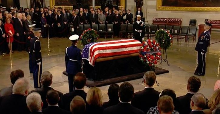 Bush funeral wasn't about Trump. Oh, wait – of course it was