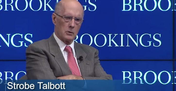 Court docs: Steele also passed dossier info to Clinton crony Strobe Talbott