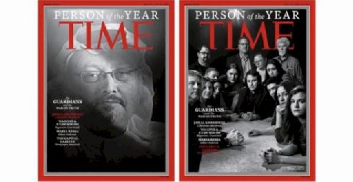 'Time magazine's 2018 person of the year are the guardians and the war on truth'