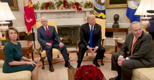Oval Office confrontation: Pelosi – 'Tinkle contest with a skunk'; Trump – 'Border security' by J.E. Dyer