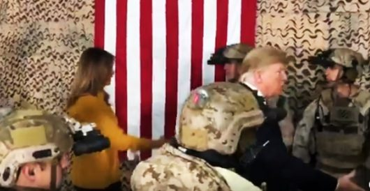 Media condemn Trump for not visiting troops at Christmas; he and Melania show up in Iraq by J.E. Dyer