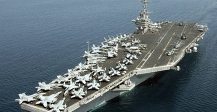 Carrier USS Stennis entered Persian Gulf Friday; Iran launched naval exercise