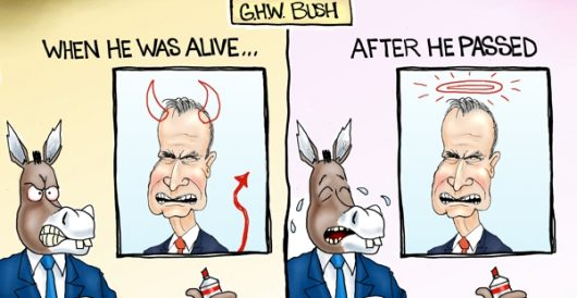 Cartoon of the Day: Bush Derangement Syndrome by A. F. Branco
