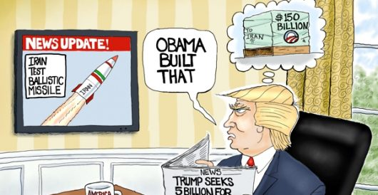 Cartoon of the Day: Going ballistic by A. F. Branco
