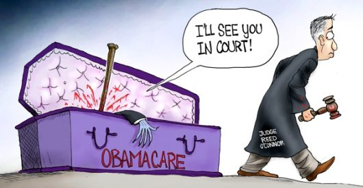 Cartoon of the Day: Obamascare by A. F. Branco