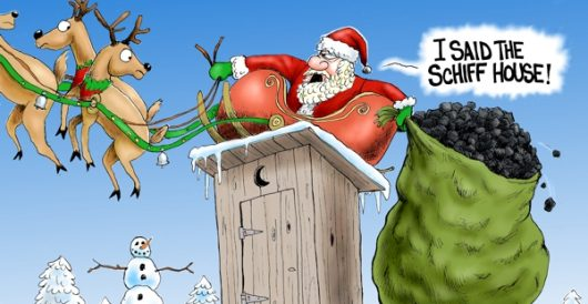 Cartoon of the Day: Christmas in D.C. by A. F. Branco