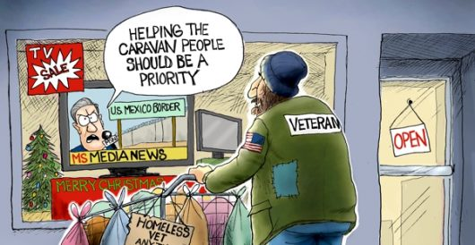 Cartoon of the Day: Charity begins at home by A. F. Branco