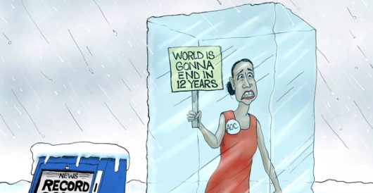 Cartoon of the Day: A hot mess by A. F. Branco