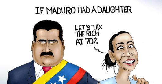 Cartoon of the Day: Maduro's little princess? by A. F. Branco