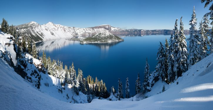 Road to Oregon's Crater Lake closed due to 'human waste buildup' during gov't shutdown