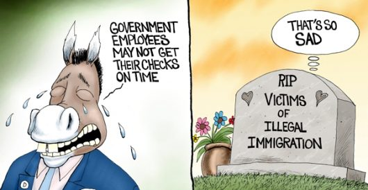 Cartoon of the Day: Hypocrat tears by A. F. Branco