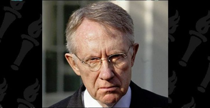 Harry Reid bashes Trump. Trump returns fire. Left goes ballistic because Reid dying of cancer