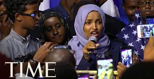 Are Ilhan Omar's words those of a patriot who loves America? by Jeff Dunetz