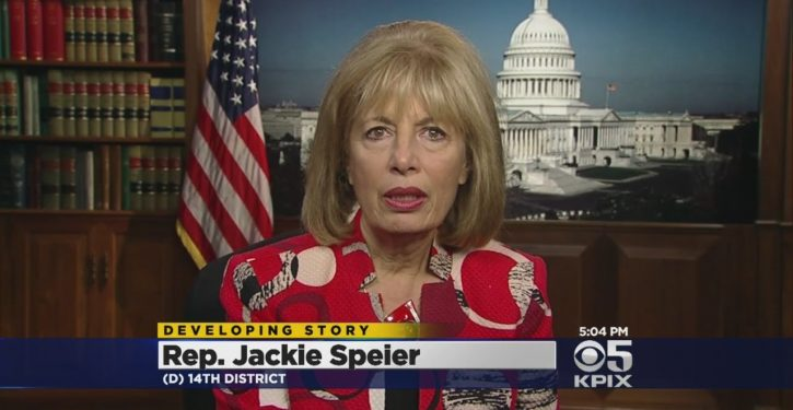 Rep. Jackie Speier attacks The Hill, berates reporter for outlet's publication of John Solomon