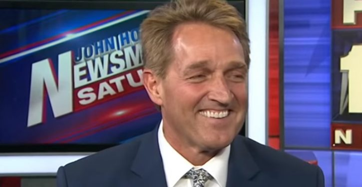 CBS News reportedly in talks to hire Jeff Flake