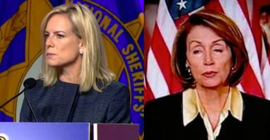 Pelosi tells DHS secretary she's not interested in facts on border security by Rusty Weiss