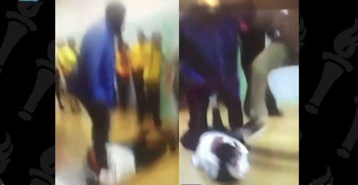 VIDEO: Detroit HS student attacks woman teacher who 'snitched' on him for having drugs