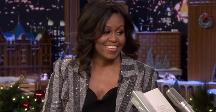Hmm: Michelle Obama sure is hitting a lot of key 2020 states on her book tours