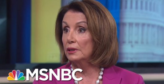Pelosi goes from 'we'll accept 2020 outcome' to 'we can't accept a second term for Trump' by Howard Portnoy