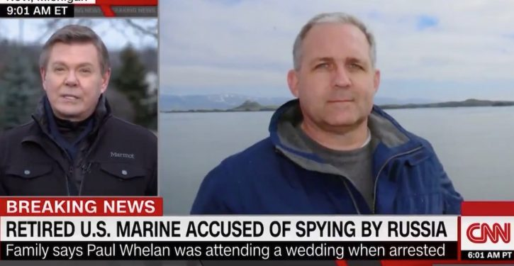 American detained in Russia for espionage is retired U.S. Marine attending a wedding