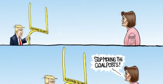 Cartoon of the Day: Own goal by A. F. Branco