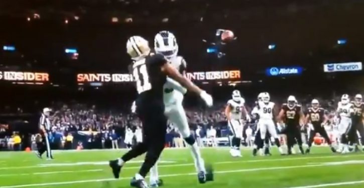 Surely a first: Fans sue to make Rams, Saints play rest of game again – after proper interference call